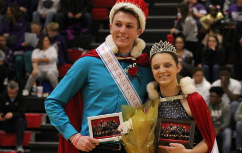 Peyton Carson and Kelsey Riedel Crowned King and Queen